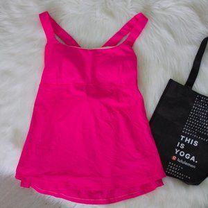 Lululemon Hot Pink Tank Top